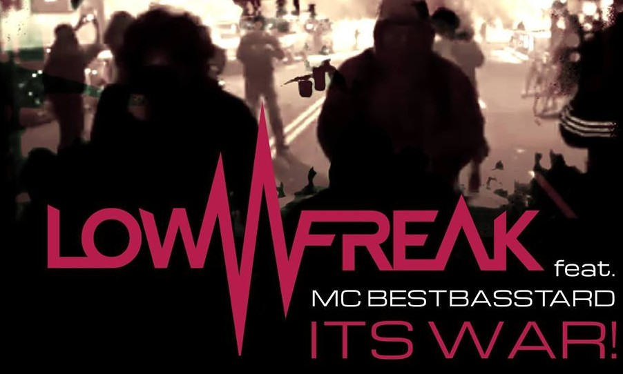Lowfreak feat. MC Bestbasstard release new track: It's War!