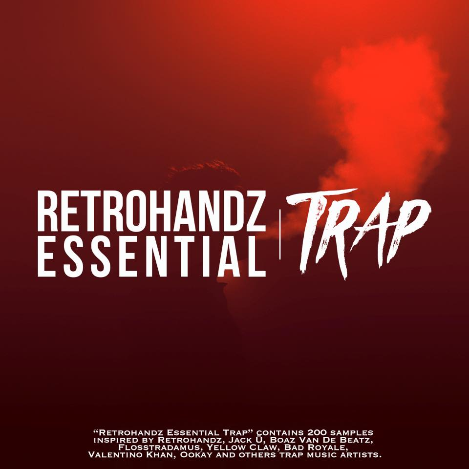 New great Trap sound bank from Retrohandz