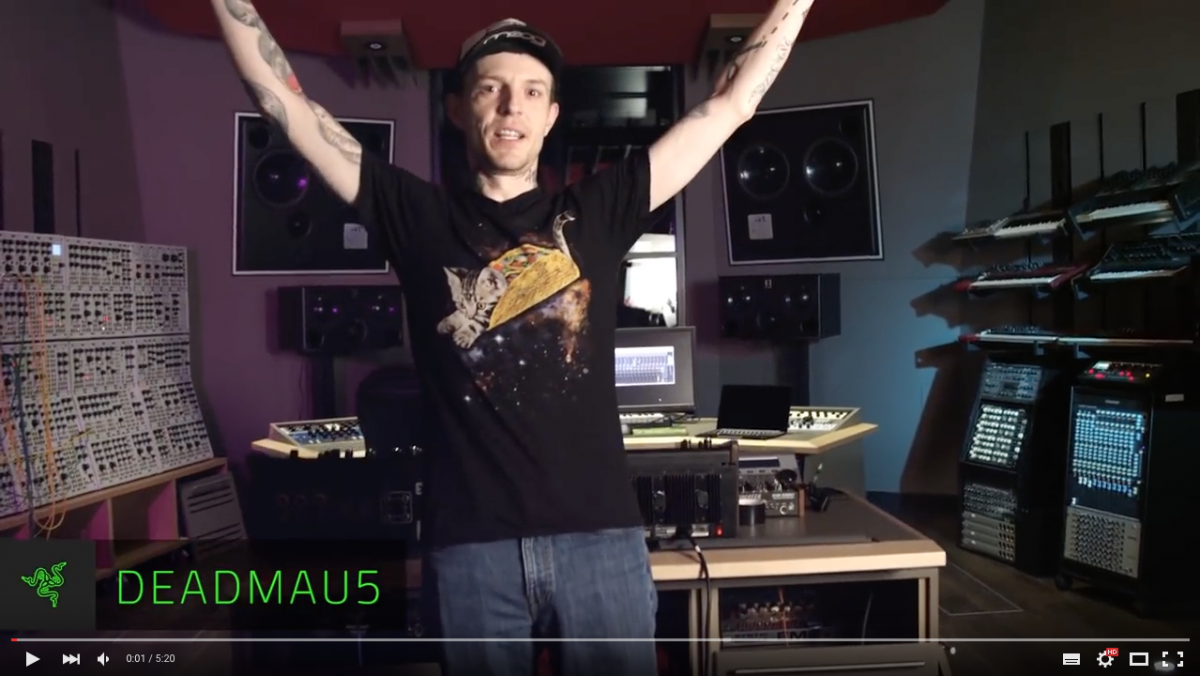 Deadmau5 Reveal his new Studio