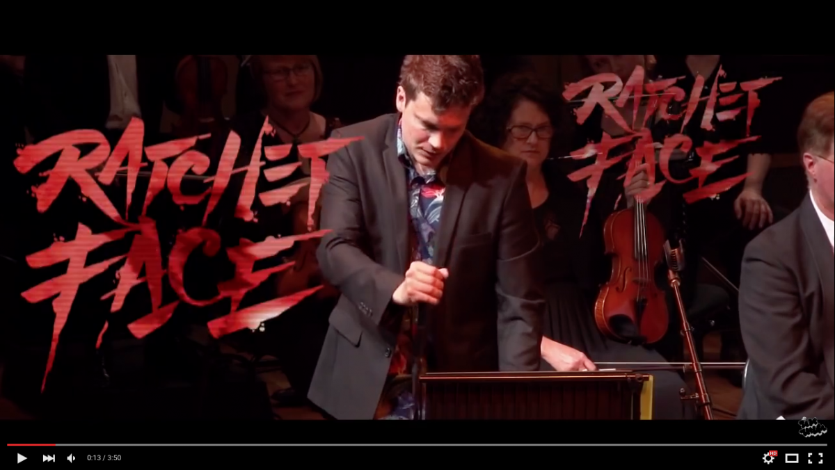 RATCHET FACE- TOM THUM AND QUEENSLAND SYMPHONY ORCHESTRA