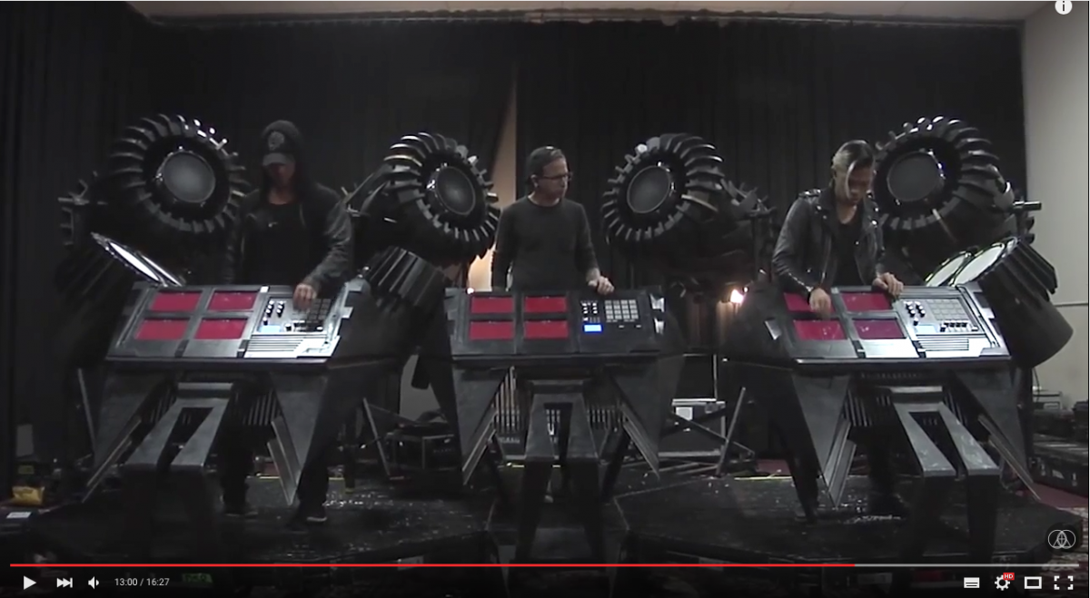 The Glitch Mob Behind The Blade