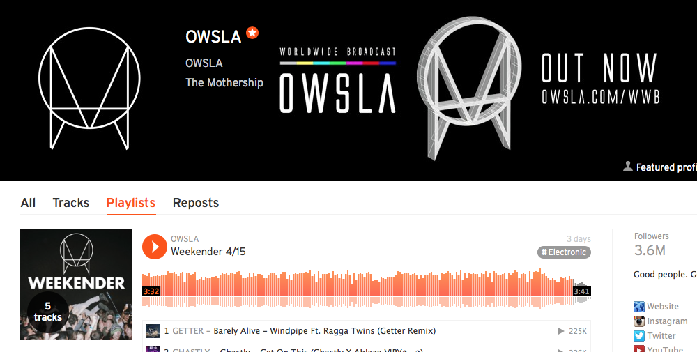 OWSLA Weekender: Latest Tracks
