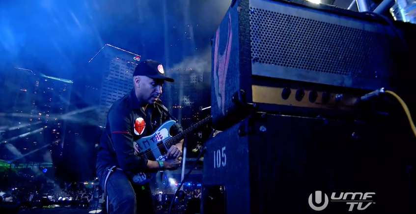 Pendulum / Knife Party Headline Set Ultra, 2016 (with Tom Morello on stage!)