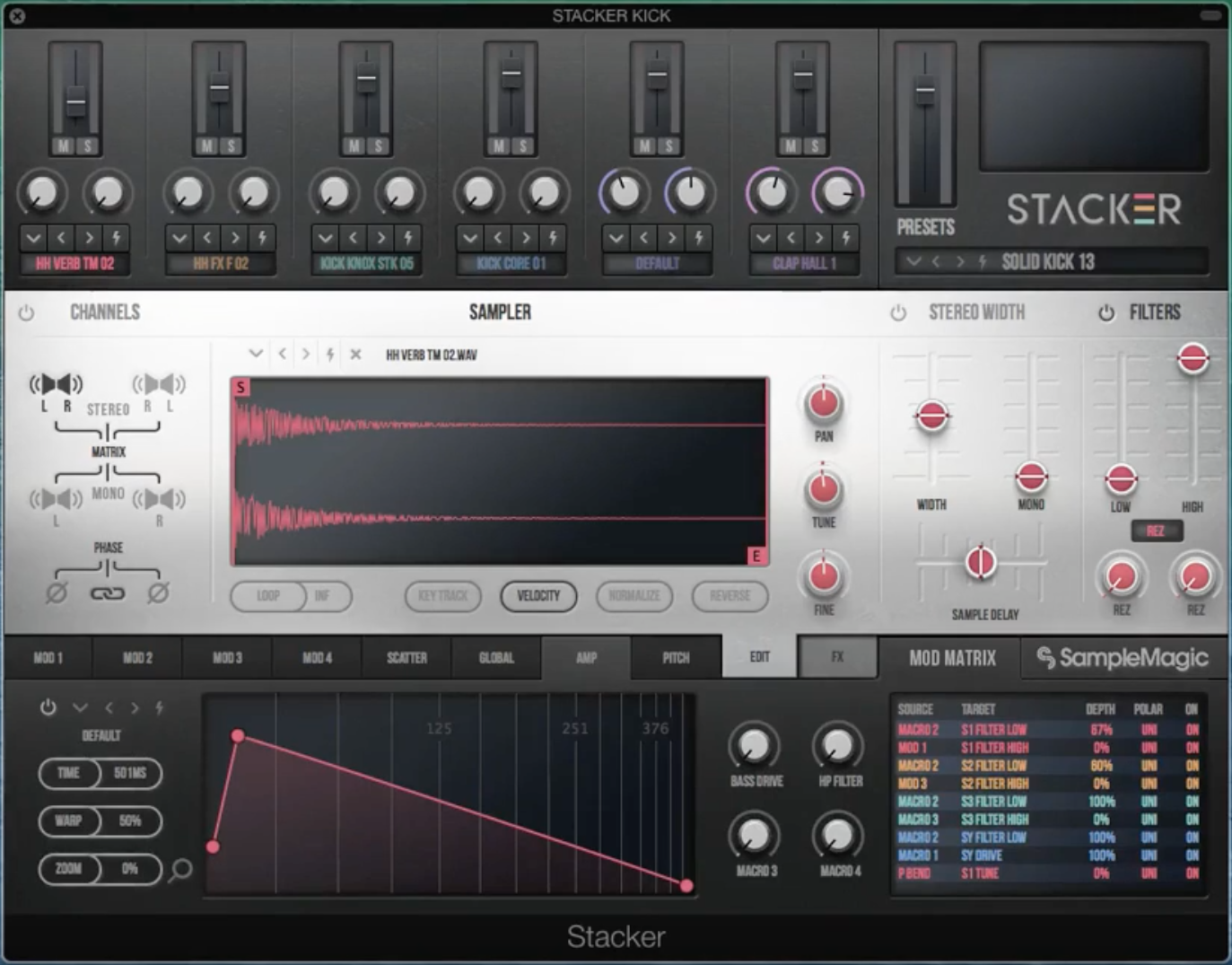 STACKER Evolve your drums: the ultimate drum layer and sound design tool.