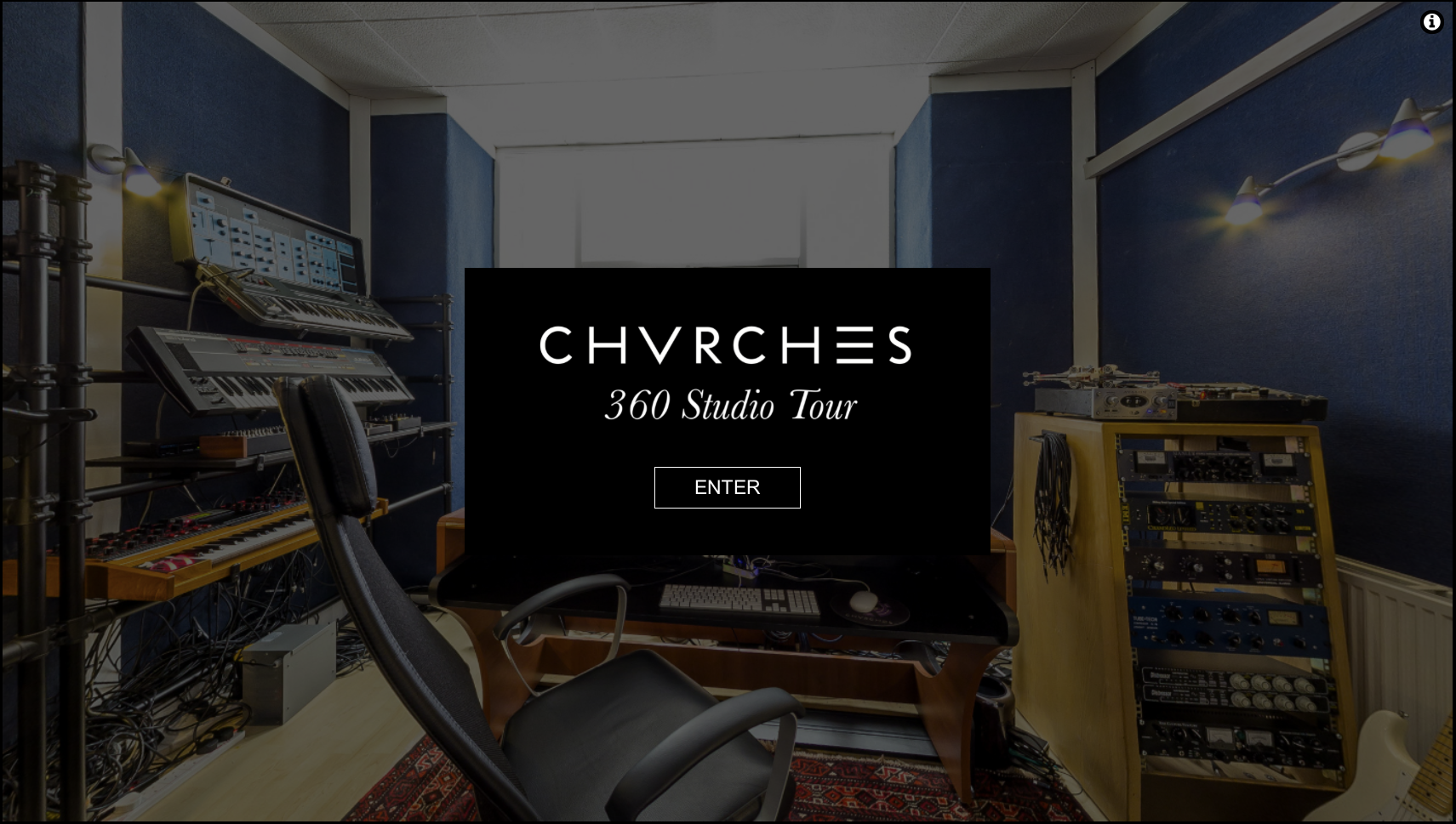 CHVRCHES virtual studio tour!