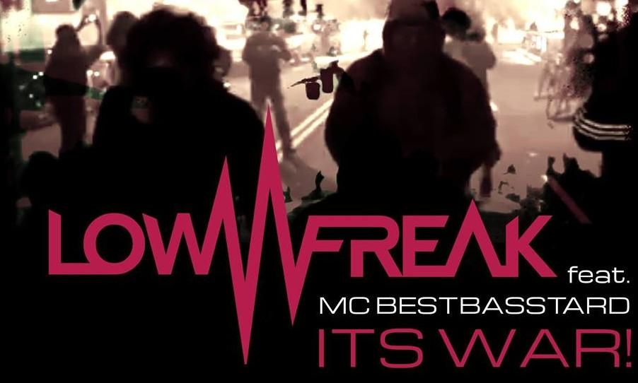 Lowfreak feat. MC Bestbasstard release new track: It's War!