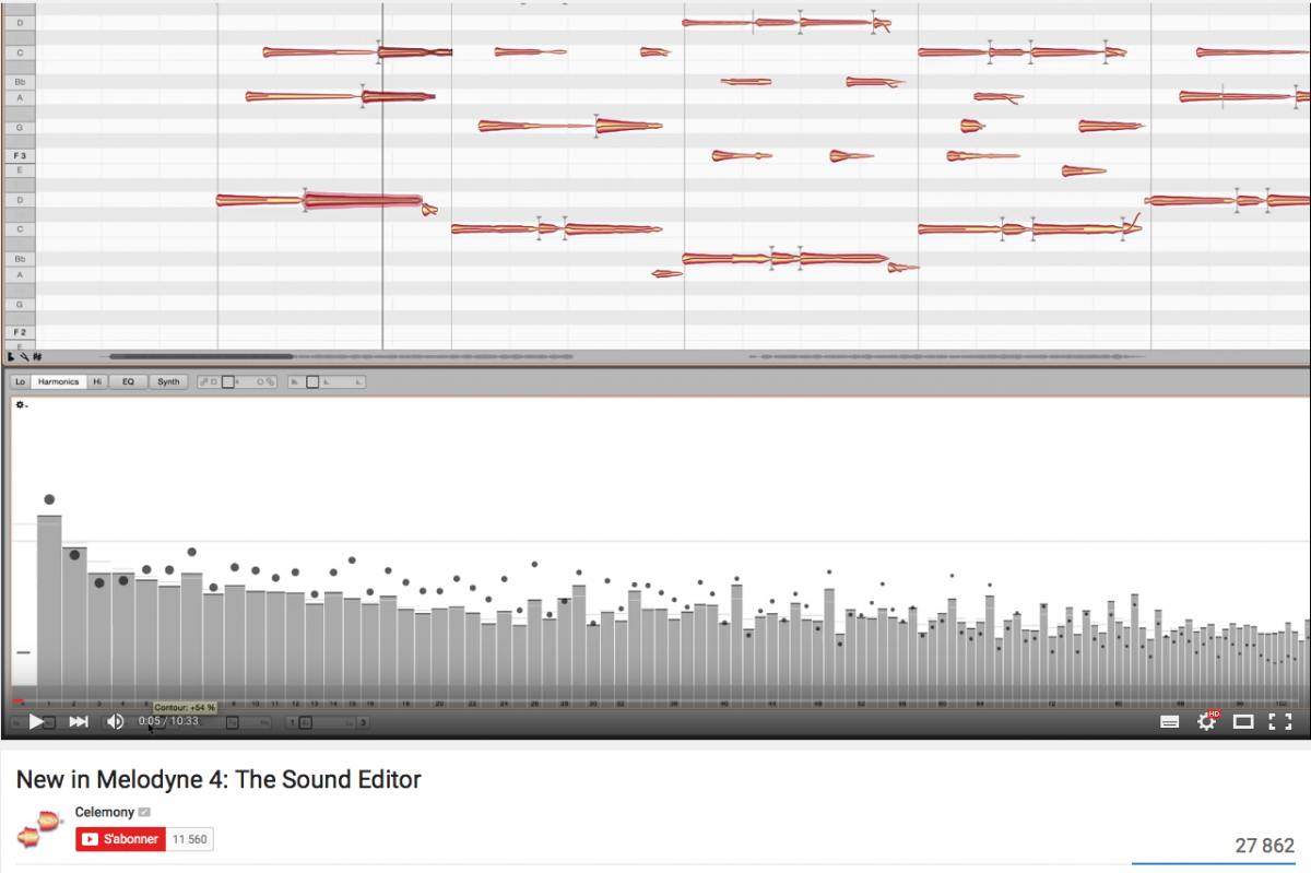 New in Melodyne 4: The Sound Editor