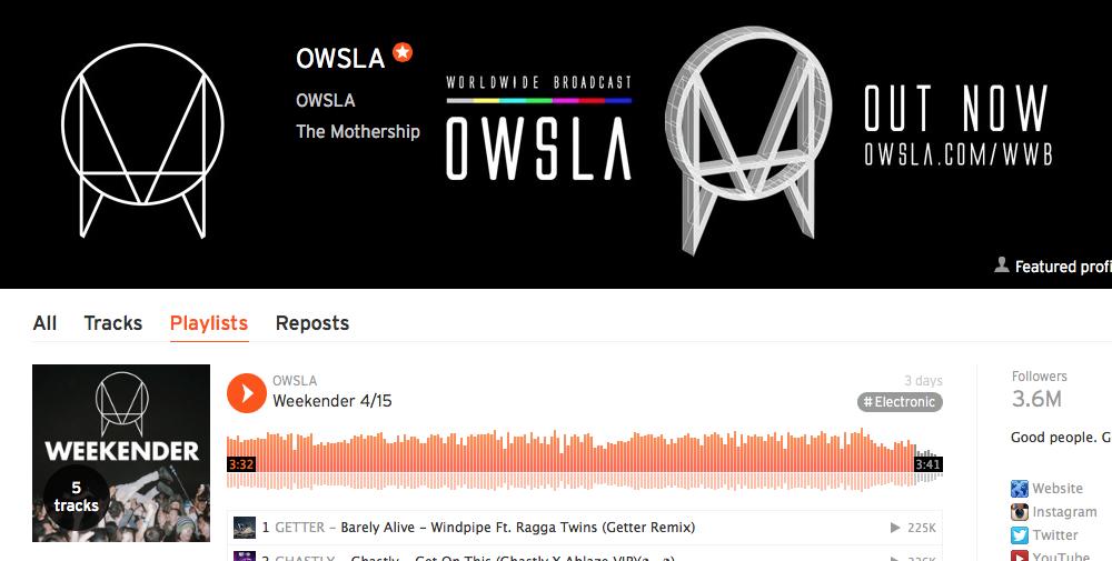 OWSLA Weekender: Latest Tracks