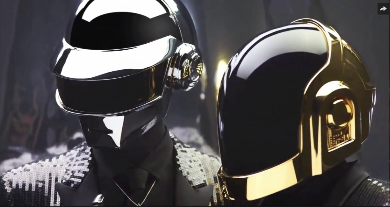Daft Punk Helmet design