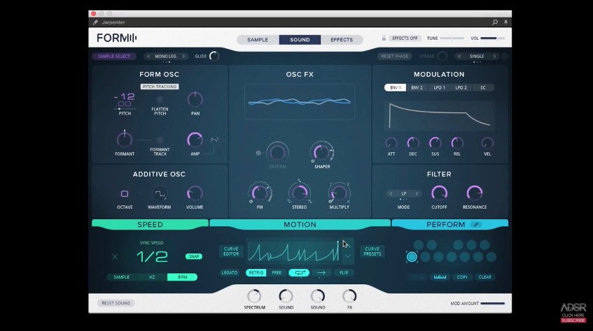 This will be the synth of the year: FORM, Overview video by ADSR